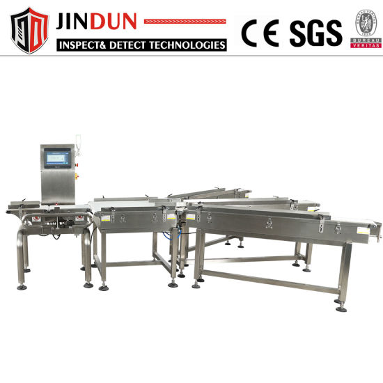 Production Line High Speed 3 Grade Automatic Weight Sorting Machine