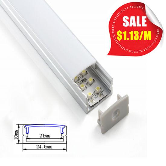 Ultra Slim LED Aluminum Profile for LED Strip Under Shelf Lighting