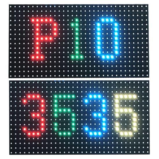 Outdooor SMD P10 16*32 LED Module RGB P10 LED Module