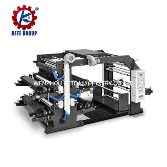 Roll to Roll 4 Color Non Woven Fabric Printer for Non Woven Bag