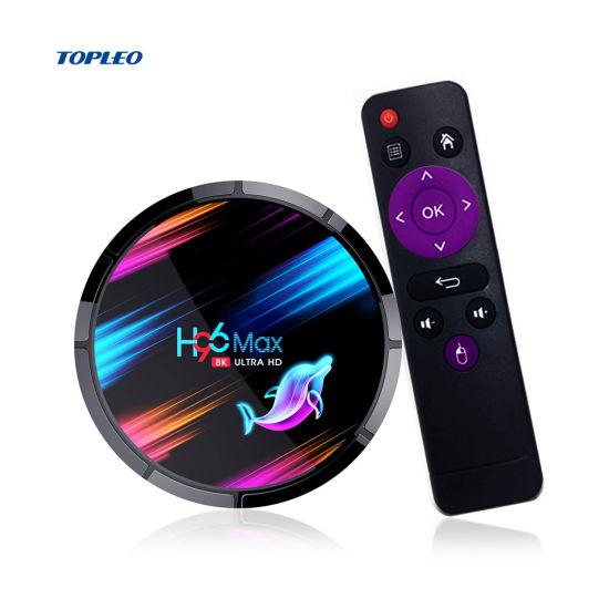 Topleo Best Quality WiFi Media Player TV Box 4K Android IP TV Box Smart Internet TV Box