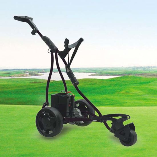Ce Certificated Easy Carry Electric Golf Trolley with 3 Wheels (DG12150-B)