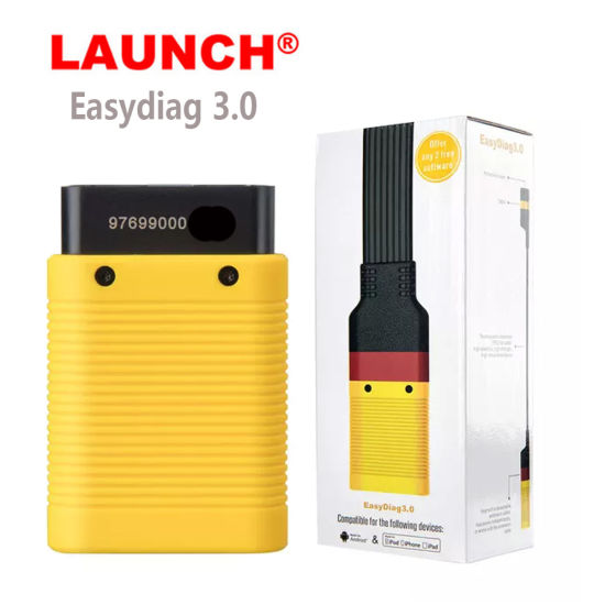 Launch X431 Easydiag 3.0/Easydiag 3.0 Plus OBD2 Bluetooth Scanner Diagnostic Tool for Android pictures & photos