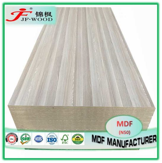 Fsc SGS AAA 4*8FT 4*10FT Grade Decorative Board Building Material Furniture Panel Prelaminated for Nigeria Kenya Somalia China Melamine MDF