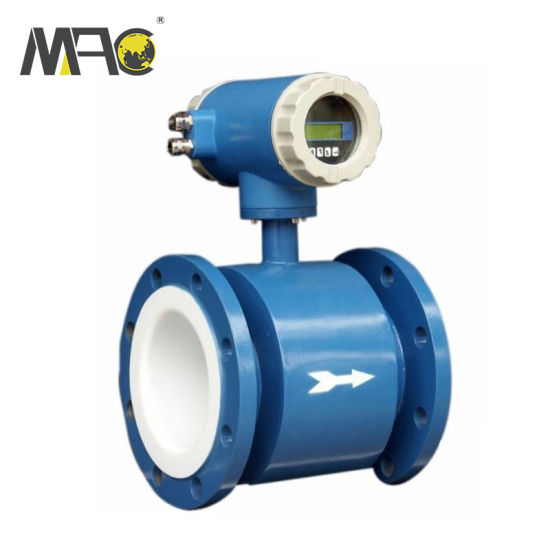 DN50 Mini Seawater Tap Water Liquid Control Intelligent Electromagnetic Flow Meter