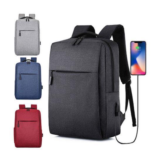 Anti Theft USB Computer Laptop Custom Mochila Antirrobo Meeting Business Backpack