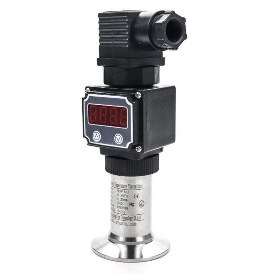 Flat Film Sanitary Juice Pressure Sensor Transducer for Milk 4-20mA Transmitter