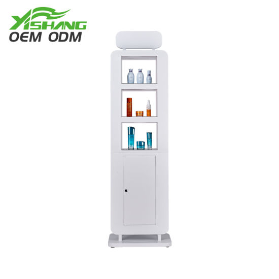 Modern 2-Sides Cosmetic Exhibition Makeup Display Rack