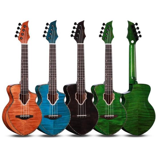 Wholesale High Quality High Gloss 23 Inch Ukulele Musical Instruments