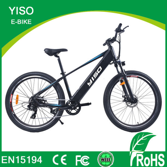 27.5 28 500W Inch Hidden Battery Yiso Electric Mountain Bicycle