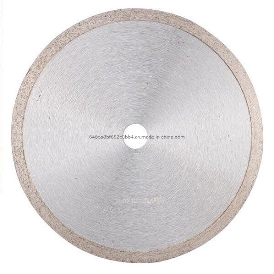 Wholesale Continuous Rim Diamond Saw Blade for Wet Cutting Ceramics