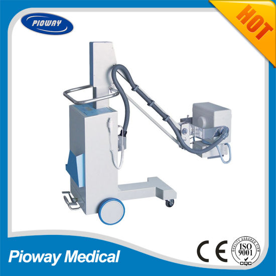 High Frequency Mobile Radiography X-ray Machine / X-ray Equipment 63mA (PLX101A)