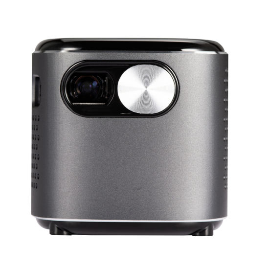 Portable Small Smart DLP Short Throw Mini Projector Mobile Phone for Home Theater