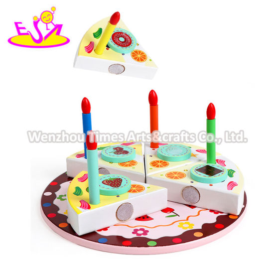 Super China 2020 Most Popular Wooden Birthday Cake Set For Kids W10B337 Funny Birthday Cards Online Eattedamsfinfo