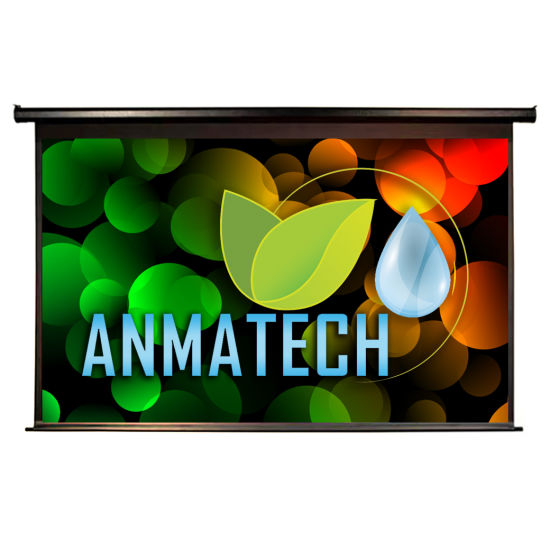 100-Inch 16: 9 High-Definition Electric Screen Projector Home Screen Projection Screen Projector Screen Office Home Screen