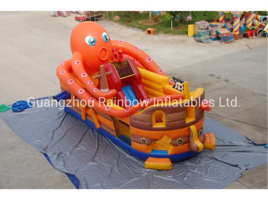 Inflatable Octopus Pirate Ship Slide for Indoor and Outdoor Park Rental and Events pictures & photos