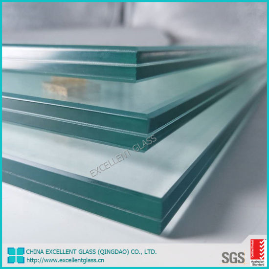 5.38mm-12.76mm Edge Polished Clear or Colored Safety Laminated Tempered/Toughened Glass/Building Glass