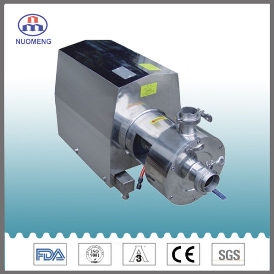 Sanitary Stainless Steel SS304/316L Emulsion Pump
