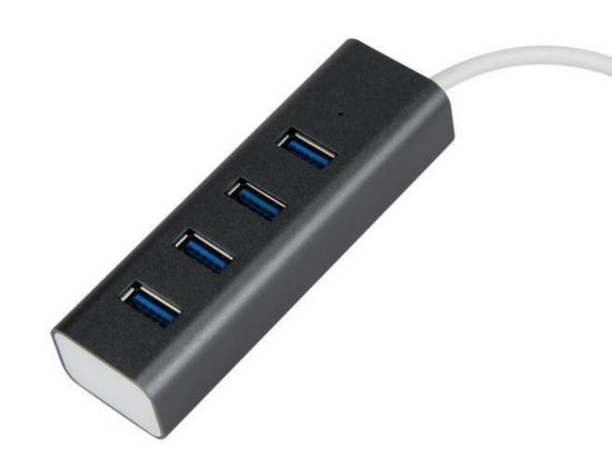USB 3.0 Hub Alumnium (Gray color)