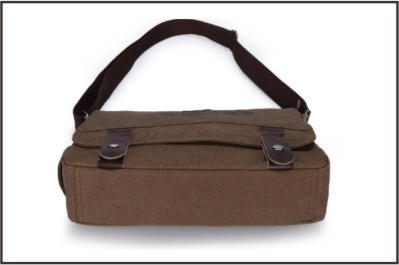 Stylish Coffee Canvas Messenger Bag for Men pictures & photos