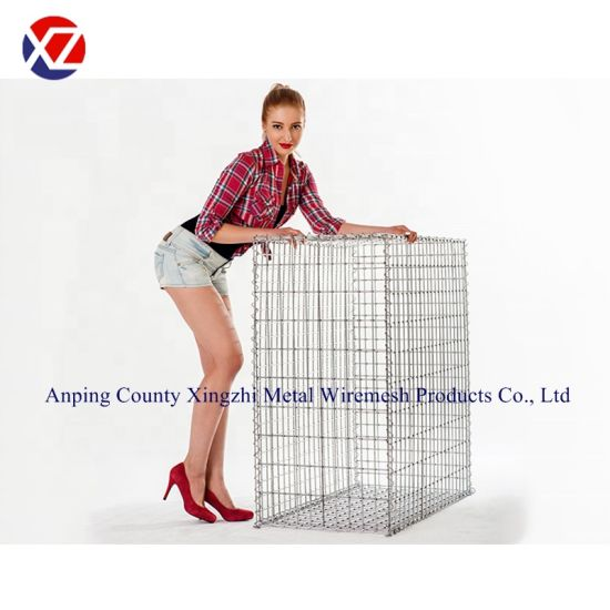 Factory Price Galfan/Galvanized Welded Garden Gabion Wire Mesh Box Basket pictures & photos
