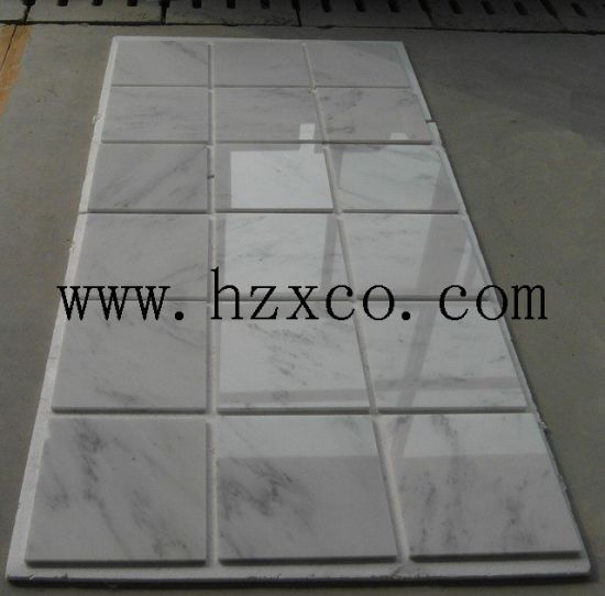 305X305 Statuary White Marble Tiles for Flooring&Walling pictures & photos