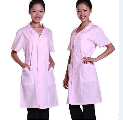 Pink Nurse Uniform Hospital Cotton Uniform