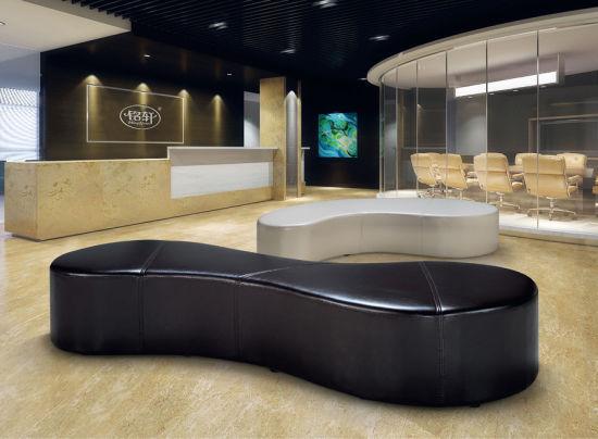Modern Resturuant Furniture Reception Leather Hotel Lobby Sofa