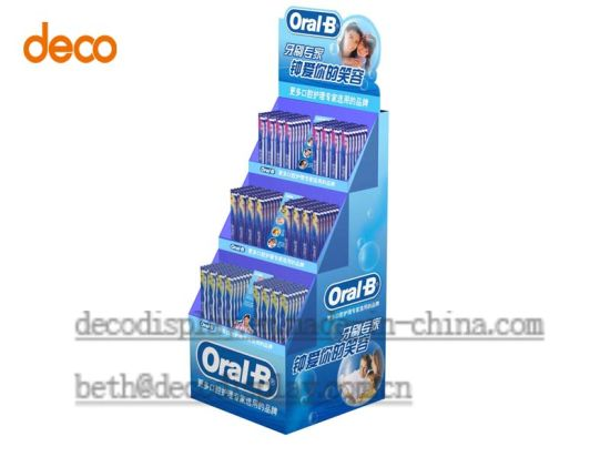 Floor Display Stand Cardboard Display Stand Display Shelf pictures & photos