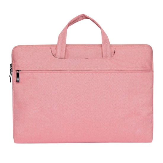 15.6 Inch Laptop Sleeve Case Portable Canvas Protective Briefcase Large Carrying Handbag