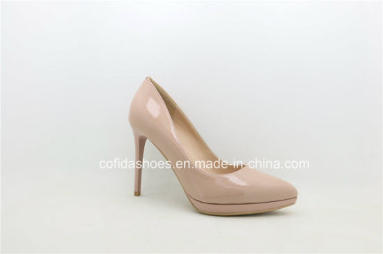 f47f513b7 Latest Fashion Plaftform Pointy High Heels Women Shoes pictures & photos