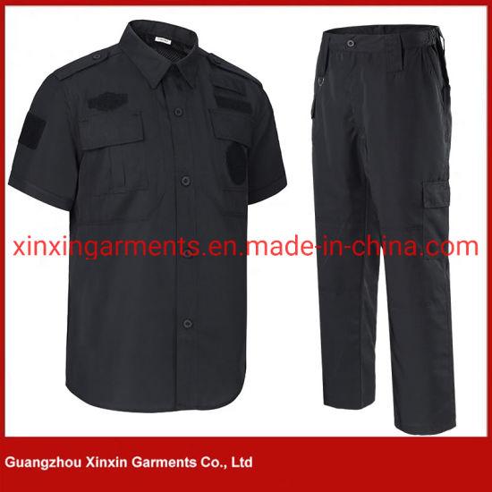 Design Security Coast Guard Uniform for Security Guard Officer Uniforms  Police Clothes Black Security (W834)