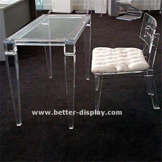 Custom Clear Acrylic Furniture