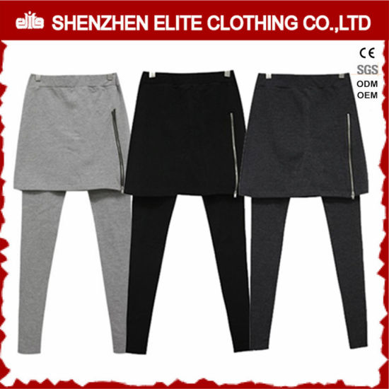 548492bd4b8 Wholesale Teenager Outwork Fitness Gym Wear Leggings with Skirt (ELTFLI-58)  pictures