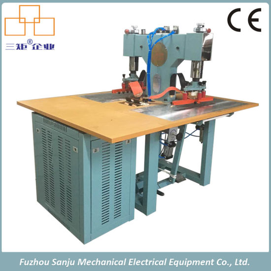High Frequency Welding Machine for Leather Gloves Logo Embossing pictures & photos
