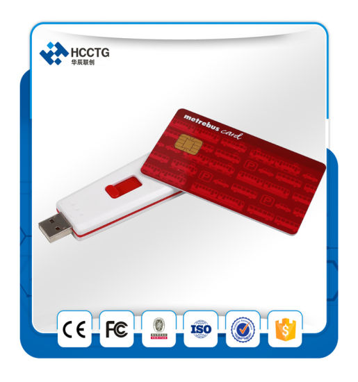 13.56 MHz Ccid Standard USB Token NFC Contactless Smart Card Reader (ACR122T)