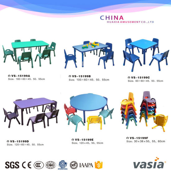 Children Table and Chair for Preschool Eduction by Vasia pictures & photos
