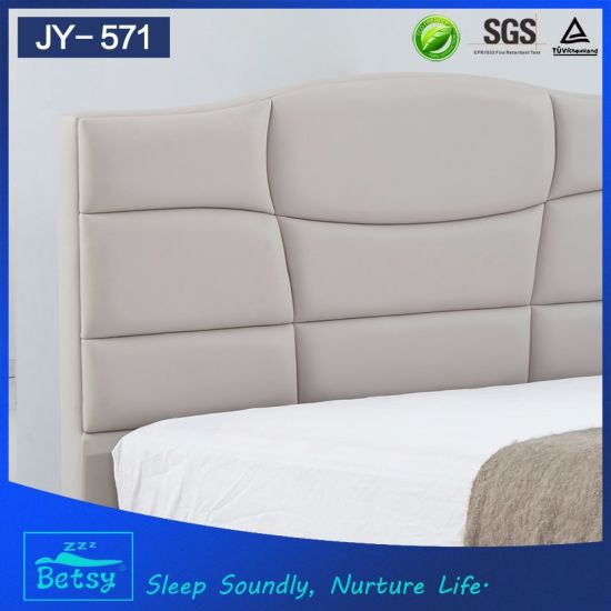 China New Fashion Queen Size Bed Dimensions Durable And