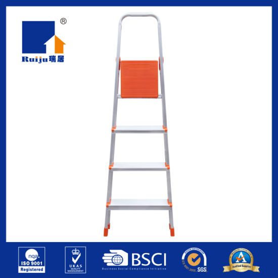 New Joint Aluminum Stepladder 4 Step pictures & photos