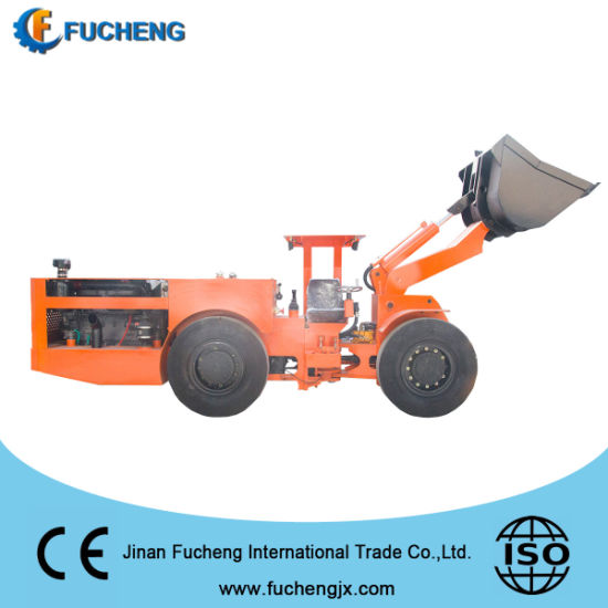 China supply hydraulic mining underground loaders with high power engine