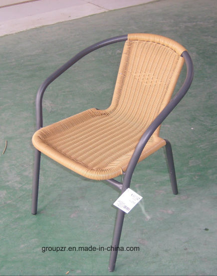 Garden Furniture Ratten Chair with Steel Frame pictures & photos