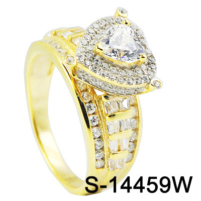 Wholesale New Design Hip Hop 925 Sterling Silver Fashion Jewelry Cubic Zirconia Custom Rapper Ring for Women pictures & photos