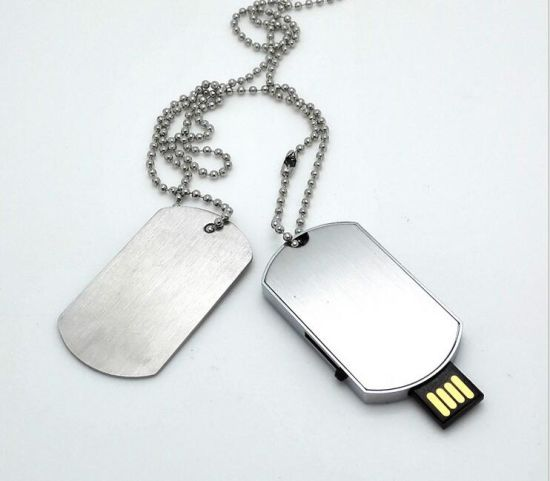 The Expendables Necklace Pendant Dog Tag USB Flash Thumb Drive pictures & photos