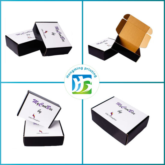 Custom Logo Shipping Mailer Box Cardboard Corrugated Packaging Box pictures & photos