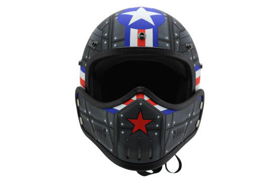 Fashionable Half Face Helmet for Motorcycle/Dirtbike with DOT/Ce pictures & photos
