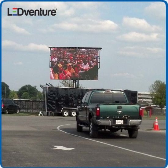 Lower Power Full Color Outdoor SMD LED Screen for Advertising pictures & photos
