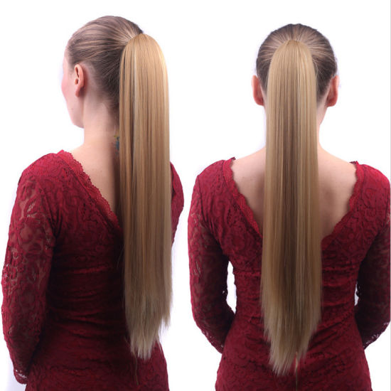 China Cheap Price Synthetic Hair Ponytail on Sale - China