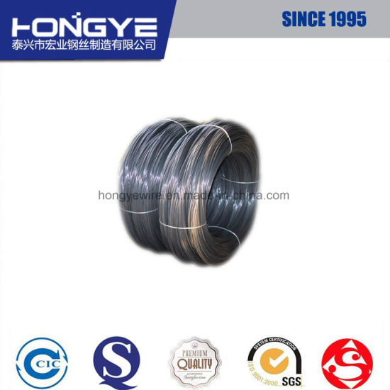 Hot Sale Product High Tensile Strength Ungalvanized Drawing Spring Steel Wire pictures & photos