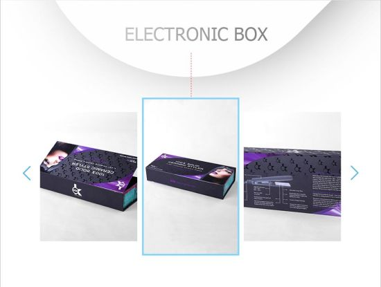 Convenient Magnetic Cardboard Salon Electronic Package Box pictures & photos