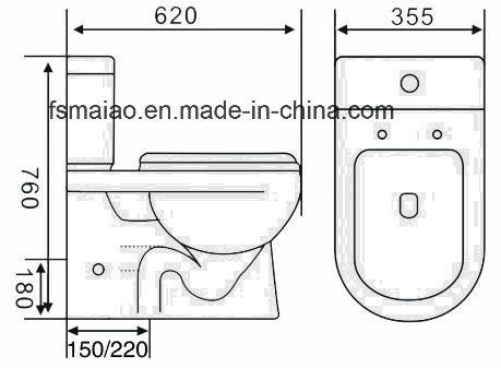 China australian standard watermark washdown closed couple toilet australian standard watermark washdown closed couple toilet closestool 8011 publicscrutiny Choice Image